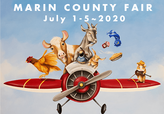 Marin County Fair July 1-5, 2020