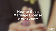 How to get a marriage license video