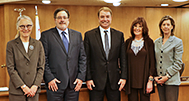 Image of Supervisors Kate Sears, Dennis Rodoni, Damon Connolly, Judy Arnold and Katie Rice