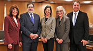 Image of  Supervisors Judy Arnold,  Dennis Rodoni,  Katie Rice, Kate Sears and Damon Connolly.