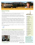Thumbnail image of the December 2009 District 5 newsletter.