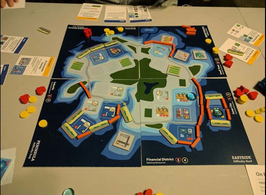 Photo of Game of Floods board game