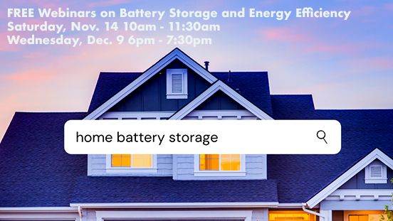 webinar image for batter storage and energy efficiency