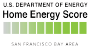 Home Energy Score Bay Area Logo