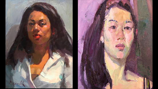 Face Time Exhibit - Portrait of Marin County Person