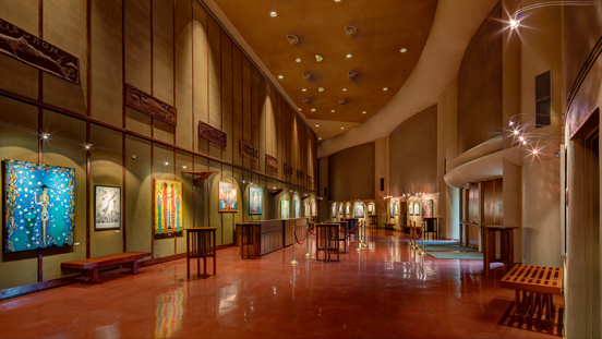 View of a Marin Center Gallery