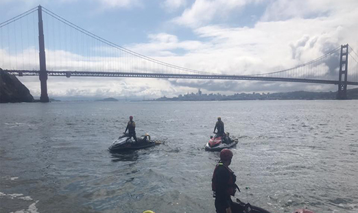 Multi-Agency Water Rescue Training in San Francisco Bay