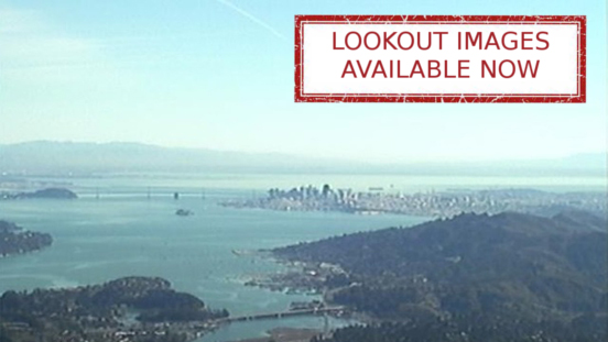 Photo of the San Francisco Bay from Mt. Tamalpais - Lookout images available now
