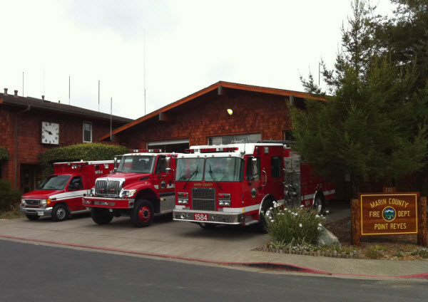 Point Reyes Fire Station