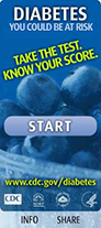 Link to Center for Disease Control and Prevention to learn about National Diaberes Education Program