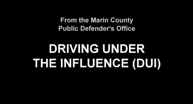 I've been Arrested for DUI - now what?