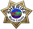 Marin County Sheriffs' badge