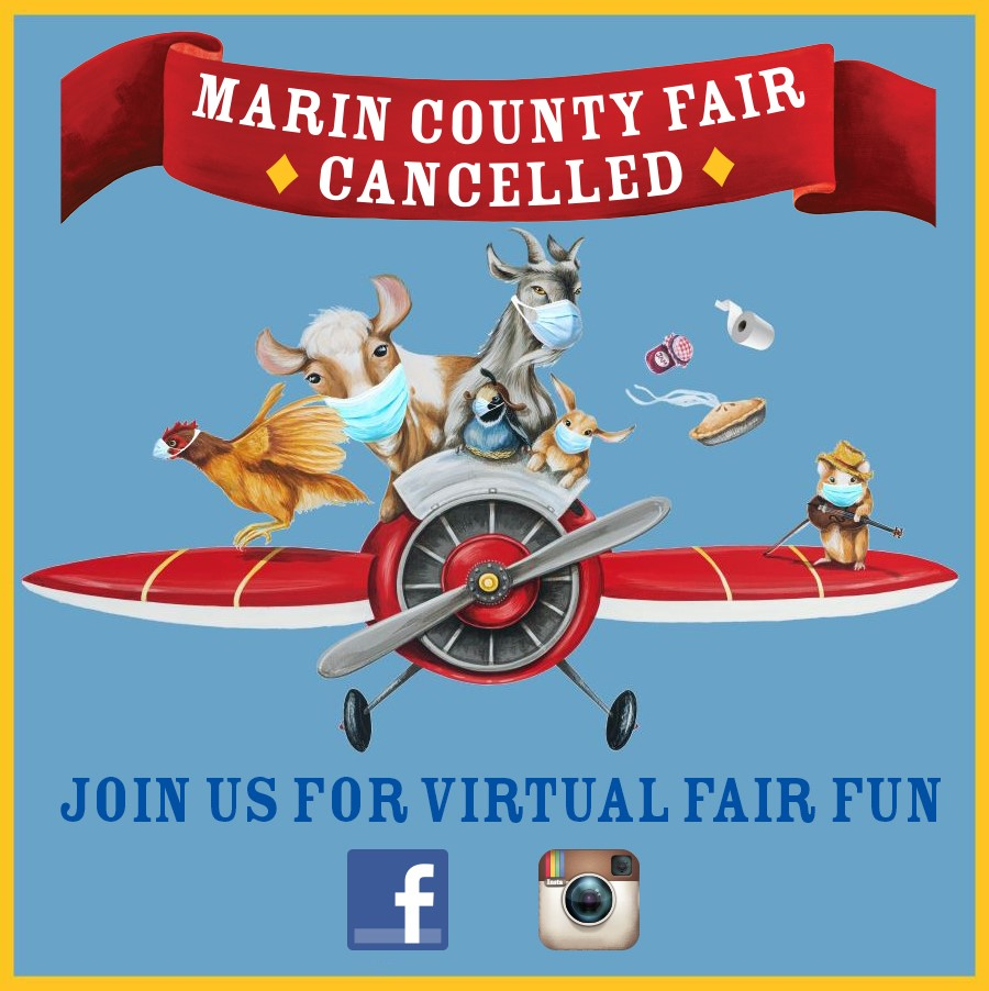 Coming Soon - Marin County Fair - 2020 - The Soaring 2020s - July 1 to 5