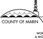 a closeup of the county's official logo