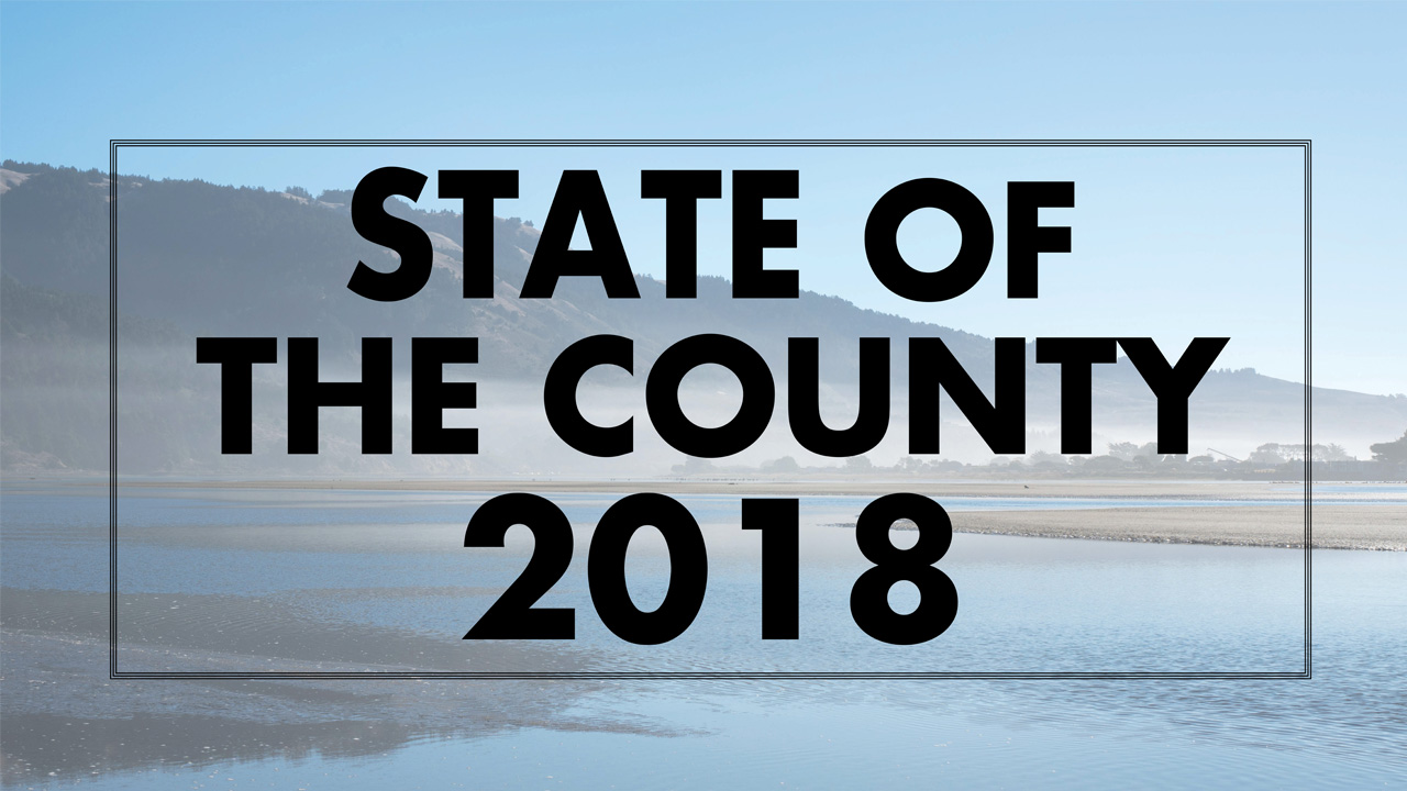 State of the County logo