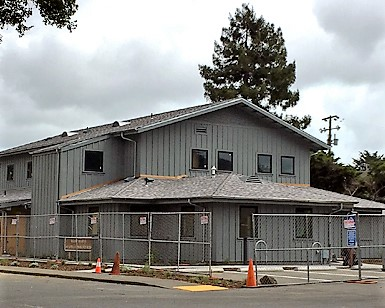 The nearly completed West Marin Service Center