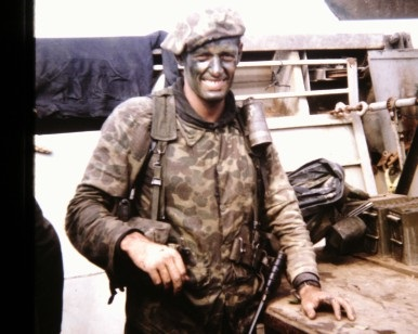John Gulick, shown during his time as a Navy SEAL in Vietnam.