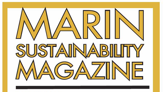 Marin Sustainability Magazine Cover