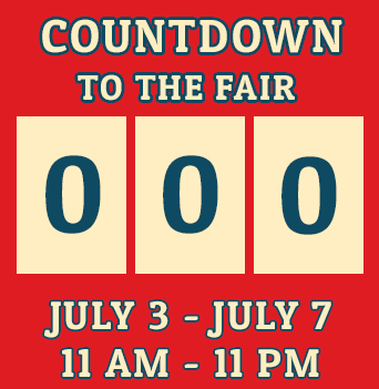 Countdown to Fair opening day