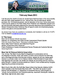District 2 Newsletter for Fabruary 2013