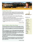 Thumbnail image of the March 2010 District 5 newsletter.