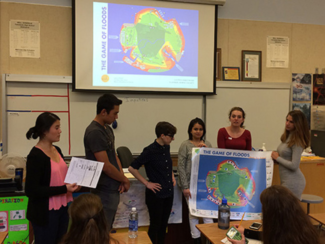 Tamalpais students present Game of Floods