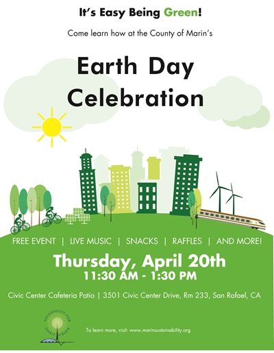 Earth Day 2017 Event Flyer