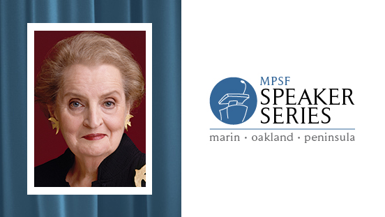 Marin Speaker Series - Albright