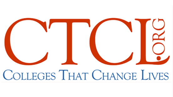 CTCL - Colleges That Change Lives logo