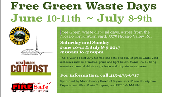 Link to the flyer for the free Green Waste Day