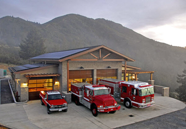 Throckmorton Ridge Fire Station - Fire Department - County of Marin