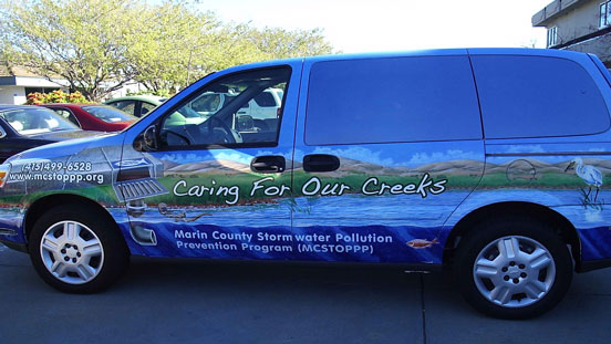 Stormwater pollution van