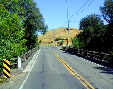 A recent view of the Nicasio Valley Bridge.