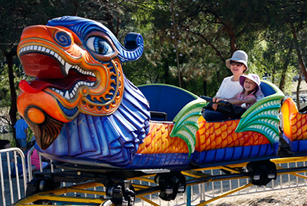 Orient Express Carnival Ride